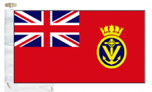 Maritime Volunteer Service MVS Red Ensign Courtesy Boat Flags (Roped and Toggled)